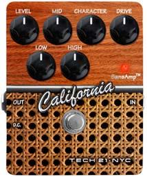 【エフェクター】TECH 21 California