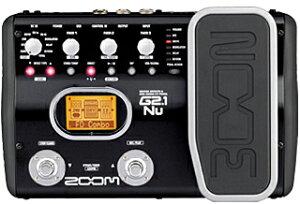 【エフェクター】ZOOM G2.1Nu [※ACアダプタープレゼント]
