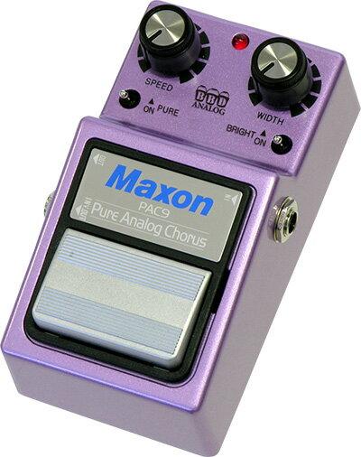ギター用アクセサリー・パーツ, エフェクター MAXON PAC9 Pure Analog Chorus
