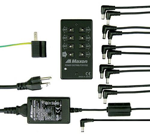 ギター用アクセサリー・パーツ, エフェクター MAXON PS2 Power Supply PD2 Power Distributor AC2009 AC Adaptor