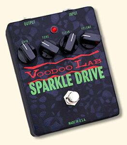 【エフェクター】VooDoo Lab SPARKLE DRIVE