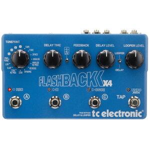 【ディレイ】t.c. electronic TonePrint Flashback X4 [Delay] 【9月末入荷予定】