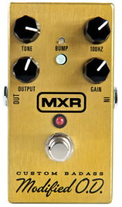 【エフェクター】 NAMM 2012 NEW MODEL!!MXR M77 Custom Badass Modified O.D.
