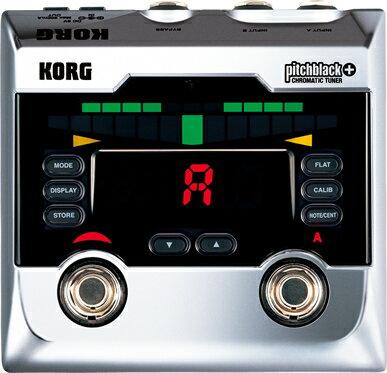 【チューナー】KORG pitchblack+ (CR) [CHROMATIC TUNER] 【限定カラー発売記念特別プライス】