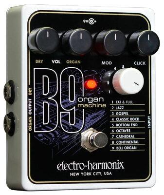 【エフェクター】Electro Harmonix B9 Organ Machine 【新製品AMP/FX】 【7月上旬入荷予定】