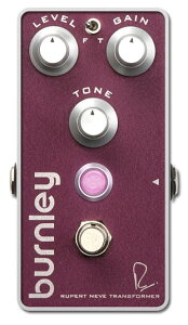 【エフェクター】Bogner BURNLEY RUPERT NEVE DESIGNS DISTORTION 【9月入荷予定】