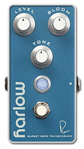 【エフェクター】Bogner HARLOW RUPERT NEVE DESIGNS BOOST With BLOOM 【9月入荷予定】