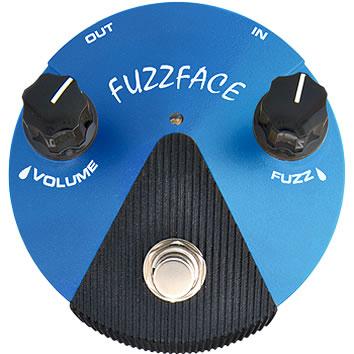 ギター用アクセサリー・パーツ, エフェクター Dunlop FFM1 Fuzz Face Mini Silicon DC9V