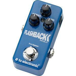 【ディレイ】t.c. electronic TonePrint Flashback Mini [Delay] 【6月3日発売予定】