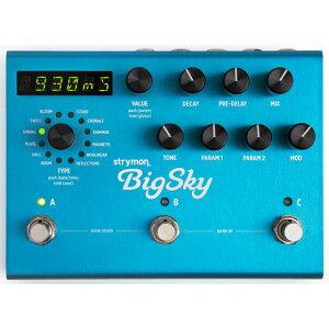 【エフェクター】strymon BigSky 【10月下旬入荷予定】 【新製品AMP/FX】