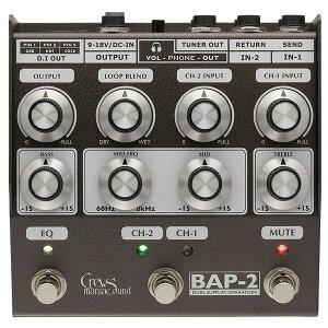 【オーバードライブ】★今なら当店内全商品ポイント5倍です!Crews Maniac Sound BAP-2 Bass Fo...