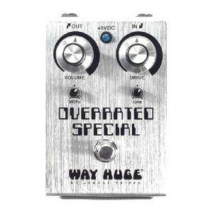 Way Huge OVERRATED SPECIAL OVERDRIVE/GREEN RHINO MkIV/SWOLLEN PICKLE MkIIS ウェイ ヒュージから人気の定番モデルがリニューアル