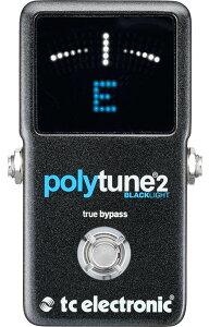 【チューナー】★今なら当店内全商品ポイント5倍です!t.c.electronic PolyTune 2 BlackLight ...