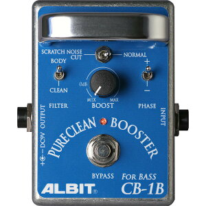 �ڥ֡��������ۡ�ʤ���Ź�������ʥݥ����5�ܤǤ���ALBIT CB-1B [PURE CLEAN BOOSTER FOR BASS]