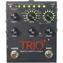 Digitech TRIO+ [Band Creator + Looper] 【新製品AMP/FX】