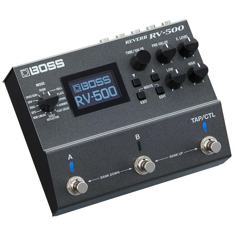 ギター用アクセサリー・パーツ, エフェクター BOSS RV-500 Reverb ikbp10
