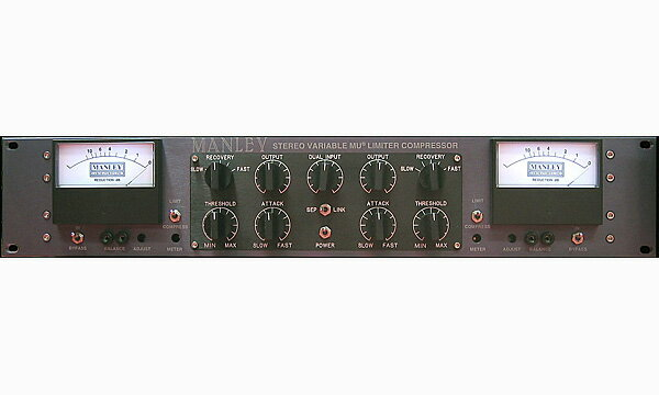 DAW・DTM・レコーダー, その他 MANLEY STEREO VARIABLE-MU LIMITER COMPRESSOR