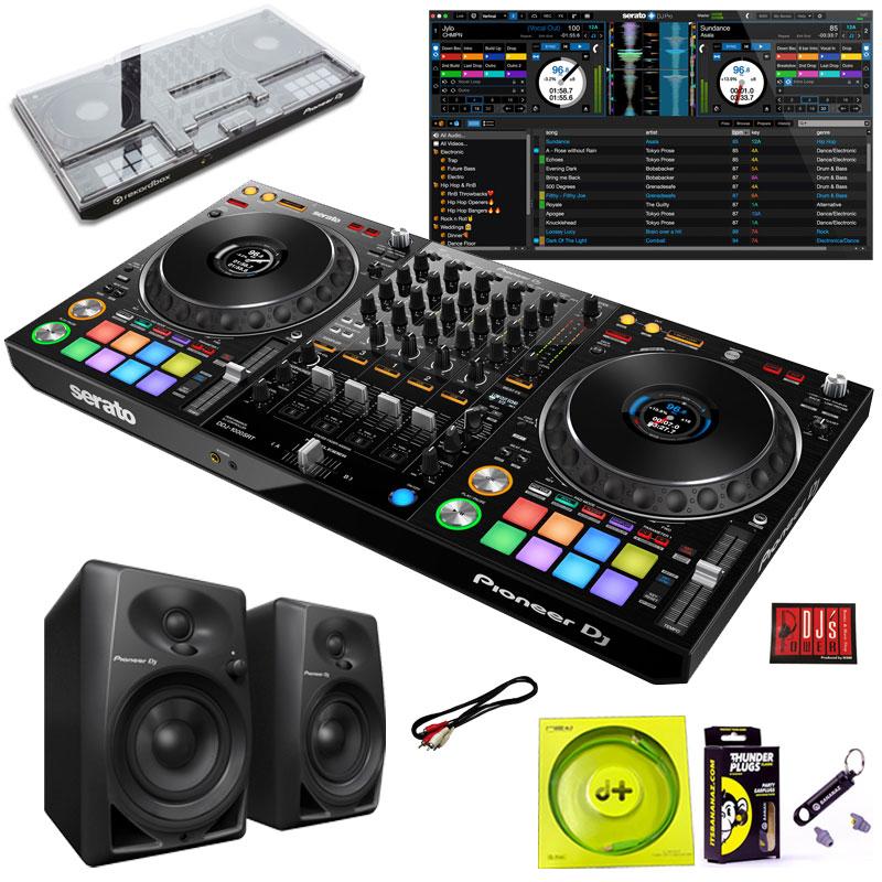 DJ機器, DJコントローラー Pioneer DJ DDJ-1000SRT DM-40SET