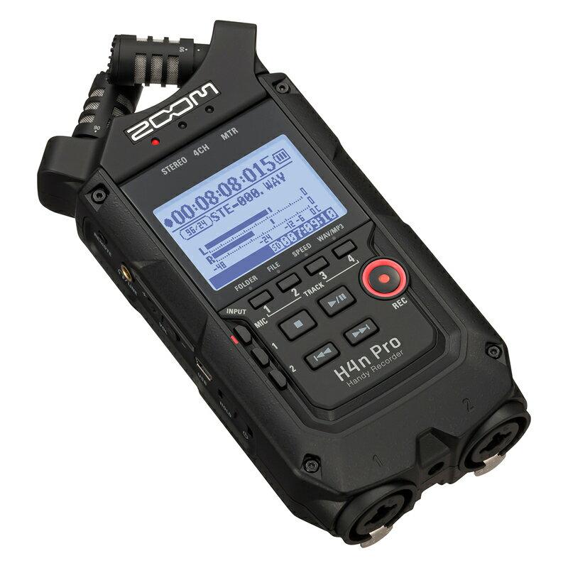 マルチトラックレコーダー, メモリーMTR ZOOM H4n Pro BLK