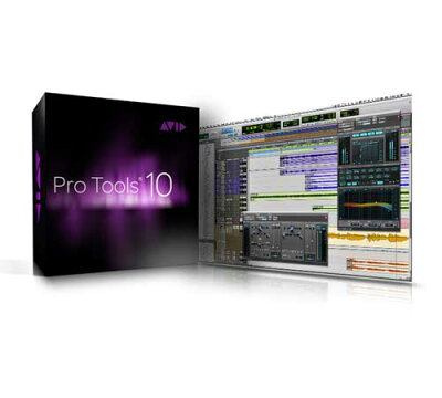 【DTM/DAWホストアプリケーションソフト】●AVID/Digidesign ProTools 10 【10月末以降発売予定】