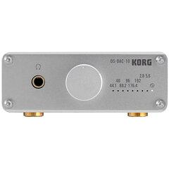 【USBヘッドフォンアンプ・D/Aコンバーター】●KORG DS-DAC-10 Silver 【5月11日発売予定】 【...
