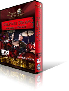 ●Sonic Reality Neil Peart Drums The Kit for BFD2