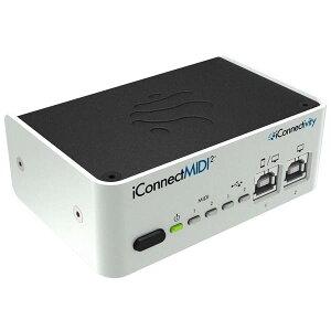 【Multi-host 2 x 2 MIDI & Audio Interface】●iConnectivity iConnectMIDI2+