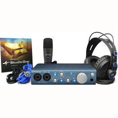 【オーディオインターフェイス】●Presonus AudioBox iTwo Studio