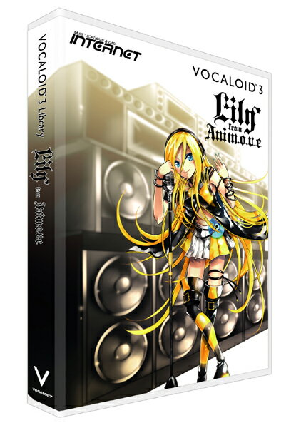 PCソフト, 音楽制作 INTERNET VOCALOID 3 Lily D2R