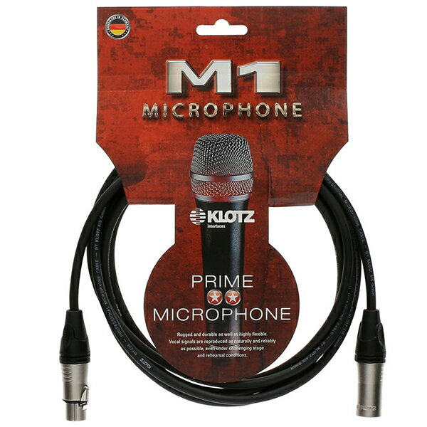 ケーブル, マイクケーブル KLOTZ M1 Series M1FM1N0500 5mXLRCF-XLRCM