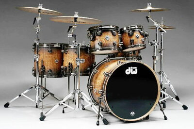 "【ドラムセット】DW 40th Anniversary Limited Edition Collector's Series ""Tamo Ash"" Kit ..."