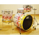 """DW Collector's Maple """"Grafic-Hot Rod Flame"""" 4pc Drum Set [NAMM 2013 Special Model]"""