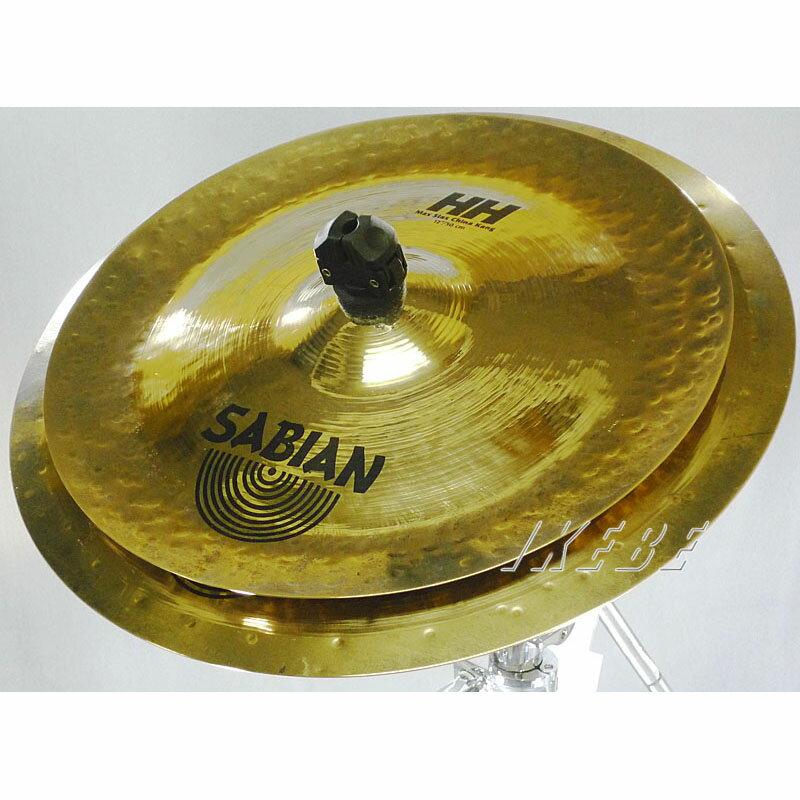 ドラム, クラッシュシンバル SABIAN HH-1214MSB HH Low Max Stax 1214