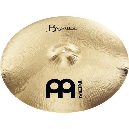 ドラム, ライドシンバル MEINL B22MR-B Byzance Brilliant Medium Ride 22
