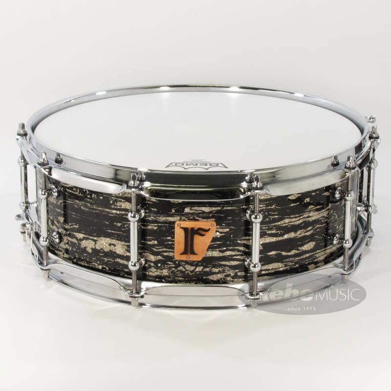 ドラム, スネア riddim 01. Maple 15ply 14 5 Zebra Glitter Covering
