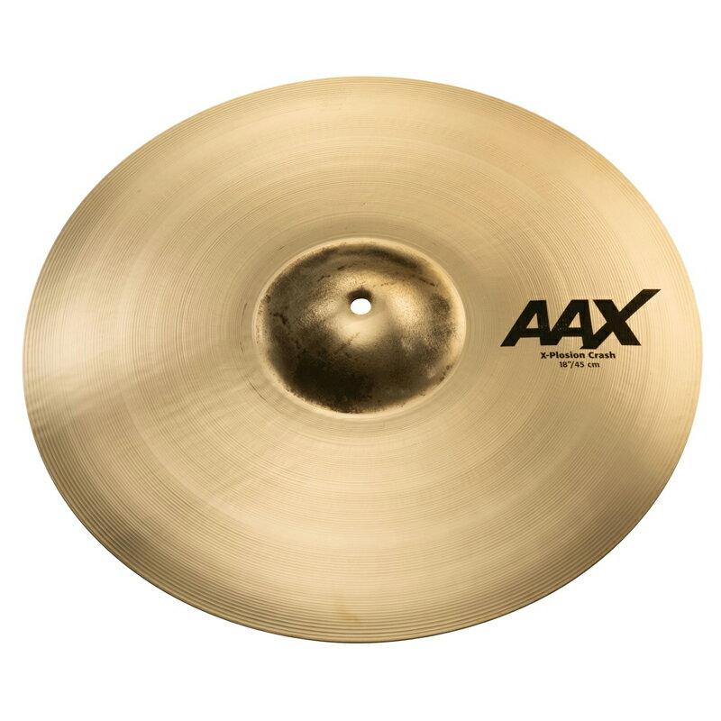 ドラム, クラッシュシンバル SABIAN AAX-18XPC-B AAX X-Plosion Crash 18 Brilliant