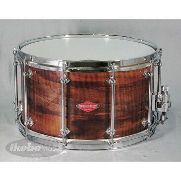 "Craviotto Walnut Solid-Shell / Natural Hi Gloss UV LQ 14""×8"" [Private Reserve Snare / Tube Lug Edition] 【NAMM 2017】"