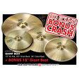 "PAiSTe GIANT BEAT BOX SET [15"" Hats / Giant Beat 20"" / Giant Beat 24""] + BONUS! Giant Beat 18"" 【Big Beat 18インチ・プレゼント!】"