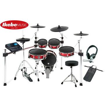 ALESIS Strike Kit 3 Cymbals Set Up 【ドラムペダル&ハイハット・スタンド&イス&ヘッドフォン&スティック・バッグ:プレゼント!】 【台数限定お買い得セット】 【ikbp5】