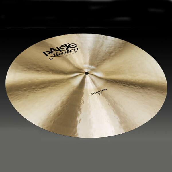 ドラム, ライドシンバル PAiSTe Masters Extra Thin 20