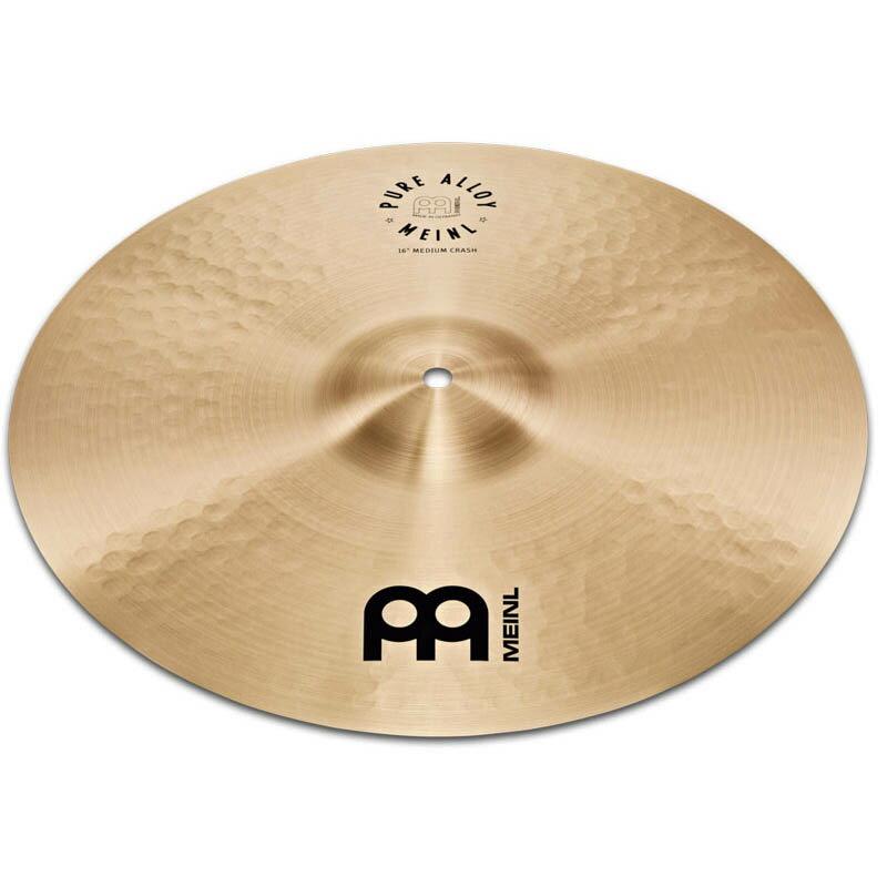 ドラム, クラッシュシンバル MEINL PA16MC Pure Alloy Series Medium Crash 16