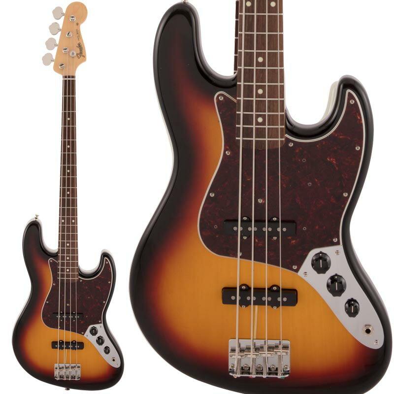 ベース, エレキベース Fender Made in Japan Traditional 60s Jazz Bass (3-Color Sunburst) ikbp5