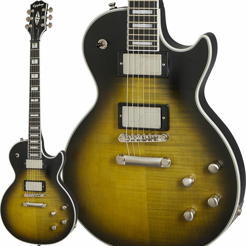 ギター, エレキギター Epiphone Les Paul Prophecy (Olive Tiger Aged Gloss)
