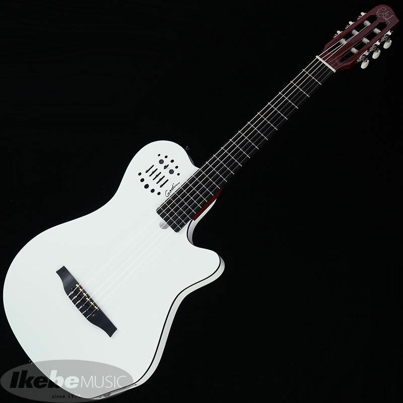 ギター, エレアコギター Godin ACS Grand Concert (White)