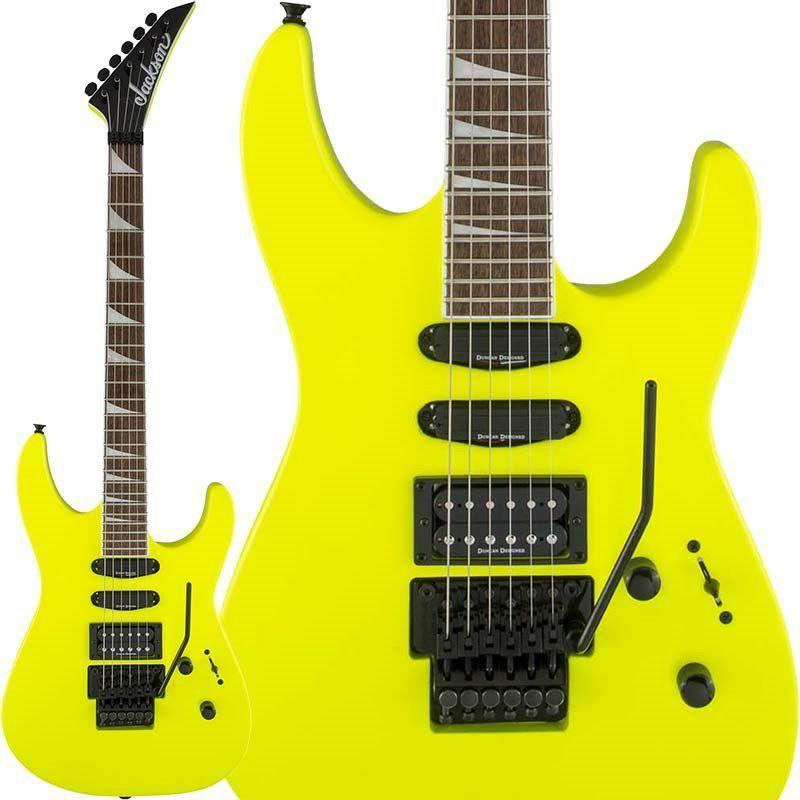 ギター, エレキギター Jackson X Series SOLOIST SL3X (Neon Yellow)