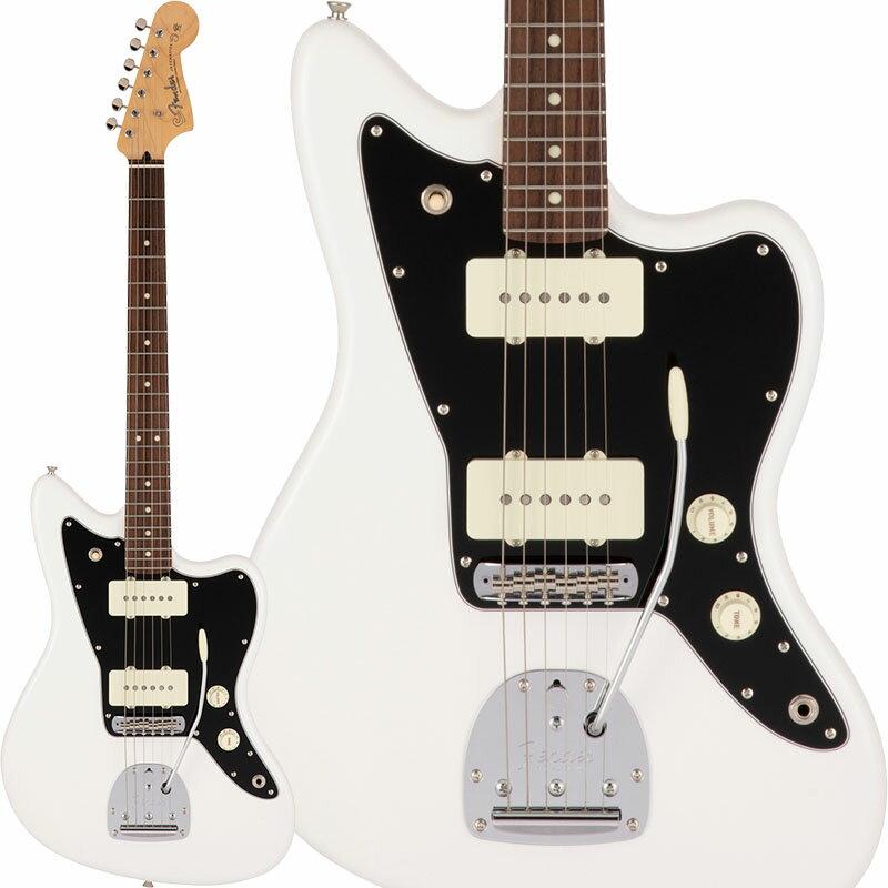ギター, エレキギター Fender Made in Japan Hybrid II Jazzmaster (Arctic WhiteRosewood) Made in Japan ikbp5