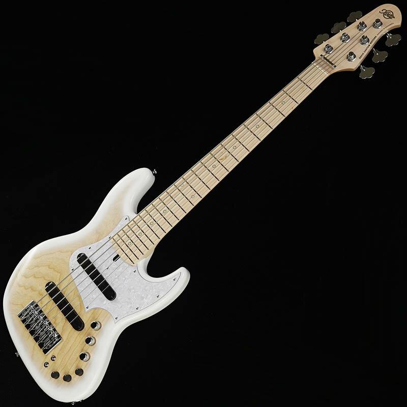 ベース, エレキベース Xotic XJ-1T 6-string Ash (White BurstMaple)