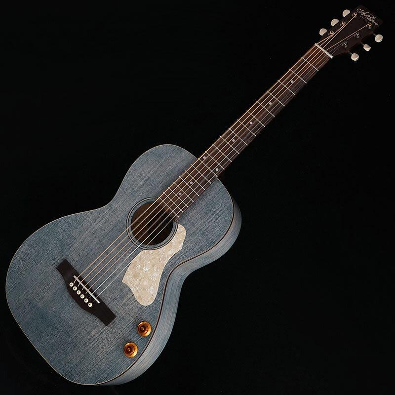 ギター, アコースティックギター ArtLutherie Roadhouse Denim Blue Q-Discrete