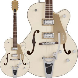 GRETSCH(グレッチ)エレキギター G5410T Limited Edition Electromatic Tri-Five Hollow Body Single-Cut with Bigsby Two-Tone (Vintage White/Casino Gold)