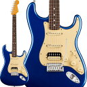 Fender American Ultra Stratocaster HSS (Cobra Blue/Rosewood) [Made In USA] 【ikbp5】